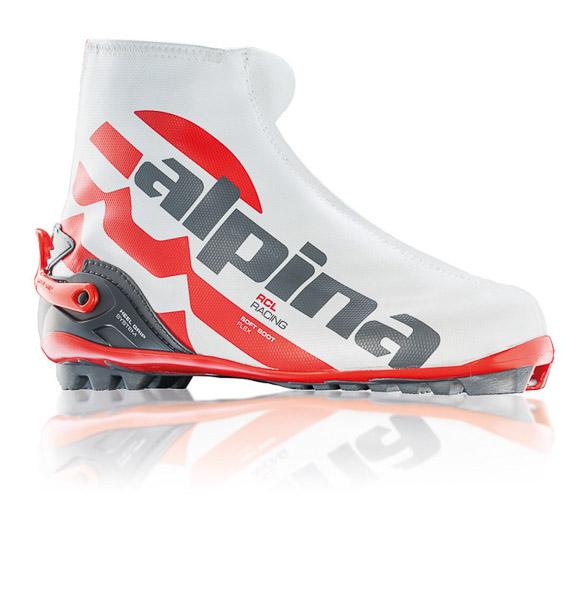 Alpina Topánky na bežky RCL  biela/červená