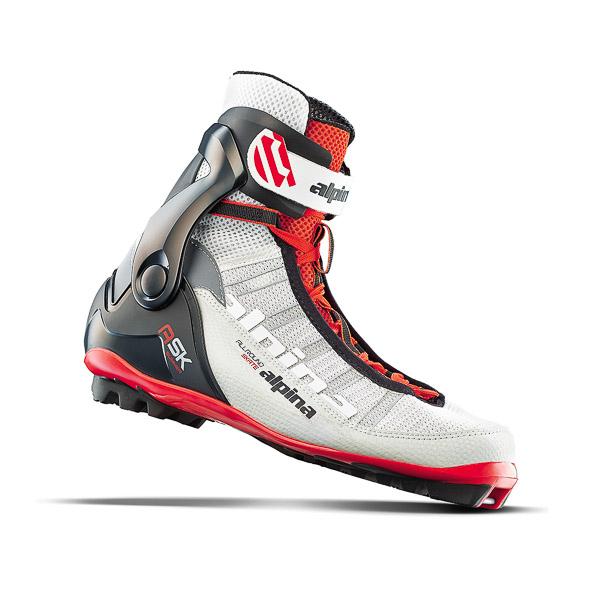 Alpina topánky na bežky ASK SUMMER, bielo čierne