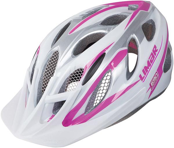 LIMAR cyklistická prilba 690 DÁMSKA bielo- ružová