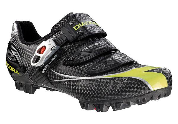 Diadora X-Trail2 Carbon MTB tretry čierne/fluo