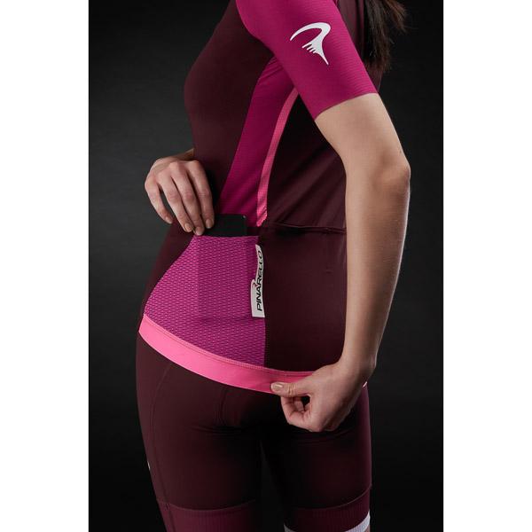 Pinarello dámsky dres STAR #iconmakers bordový/ružový