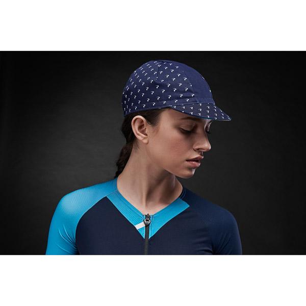 Pinarello dámska čiapka EPIC Think Asymmetric modrá