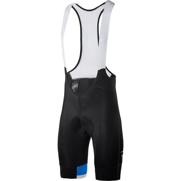 Pinarello FUSION kraťasy s trakmi #iconmakers čierne/biele/modré