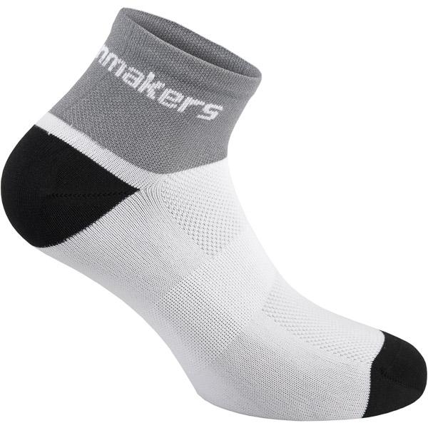 Pinarello Dots dámske ponožky T-writing čierne/biele