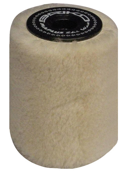 Briko Maplus rotačná kefa Merino wool (10 mm) 10cm
