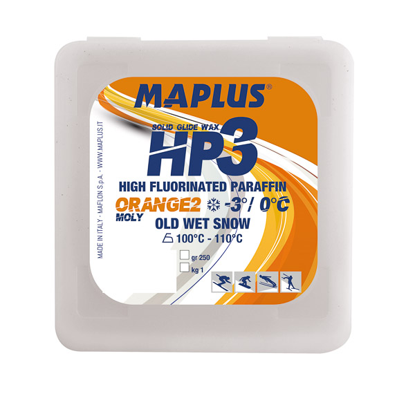 Maplus HP3 ORANGE 2 MOLY HOT ADDITIVE vysokofluórový parafín 250 g