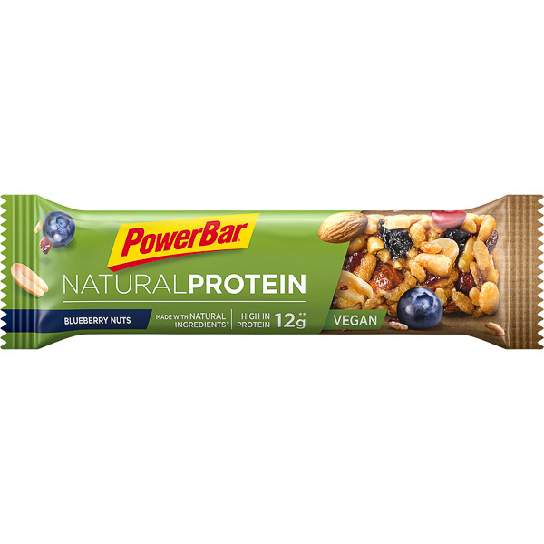 PowerBar Natural Protein tyčinka 40g Čučoriedky/Oriešky