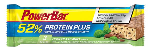 PowerBar ProteinPlus 52% tyčinka 50g Čokoláda/mäta