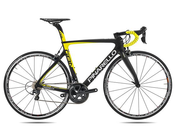 Pinarello Gan RS Chorus cestný bicykel čierny žltý fluo 2017