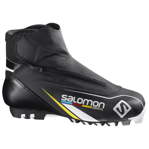 Salomon EQUIPE 8 CLASSIC PILOT Topánky na bežky čierne