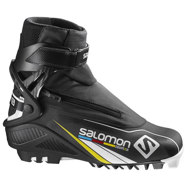 Salomon EQUIPE 8 SKATE PILOT Topánky na bežky čierne