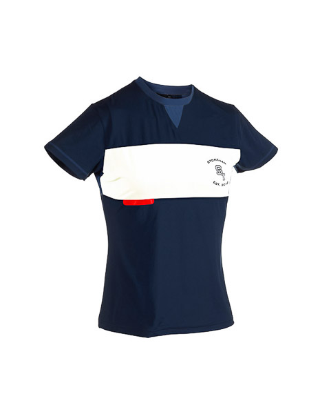 ST running tričko modré
