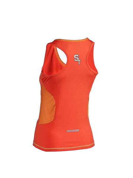 ST running top dámsky oranžový