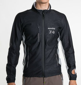 Sportful Giubbino Windstopper Bunda čierna
