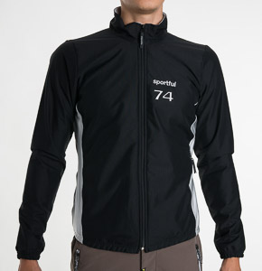 Sportful Windstopper 74 Bunda čierna