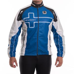 Sportful SUOMI WindStopper Bunda modrá-biela