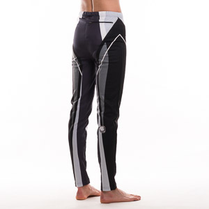 Sportful Lapland termo elasťáky čierno-sivé