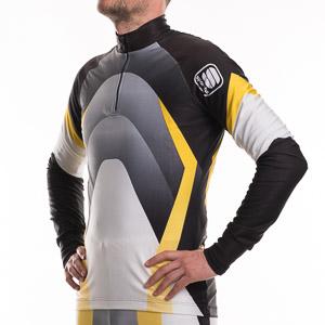 Sportful Top Boreal čierna-biela-žltá