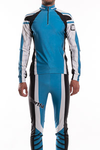 Sportful Sapporo RACE nohavice čierna-modrá-biela