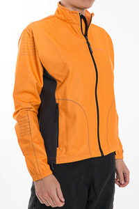 Sportful Taos WindStopper bunda dámska oranžová-sivá