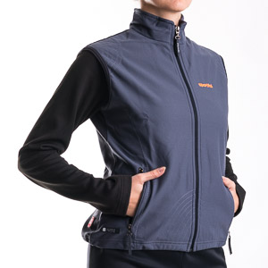 Sportful Taos WindStopper Vesta sivá