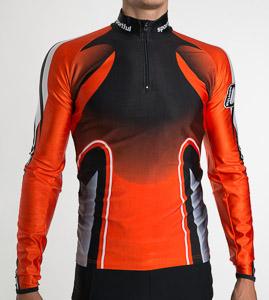 Sportful Moritz Race Top čierny/oranžový