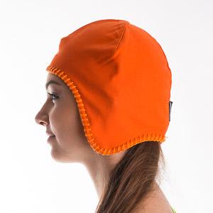 Sportful GORE Windstopper čiapka dámska oranžová