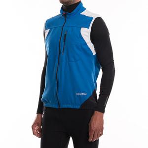 Sportful APEX 2 WS Stretch Vesta, modrá-biela