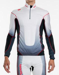 Sportful Apex Squadra Top bielo-čierny
