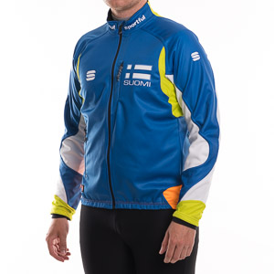 Sportful SUOMI Sprint GORE WindStopper bunda modrá