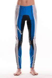 Sportful Rovaniemi RACE nohavice biela-modrá