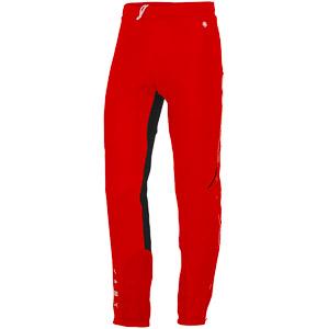 Sportful Apex Windstopper Nohavice červené/čierne