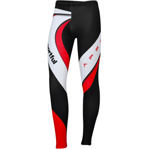 Sportful Apex Flow Race Nohavice čierne/biele/červené