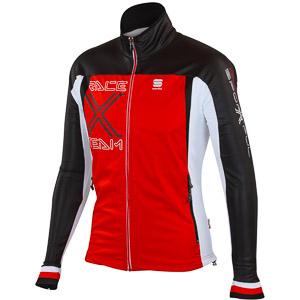 Sportful Worldloppet Bunda červená/čierna/biela