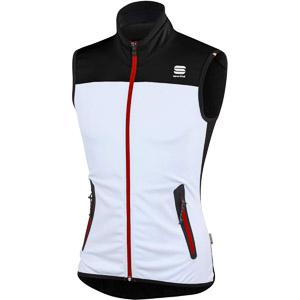Sportful Apex Evo WS Stretch Vesta biela/čierna