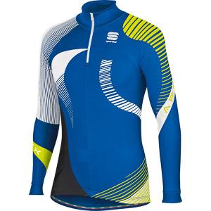Sportful Apex Evo Race Top modrý/fluo žltý
