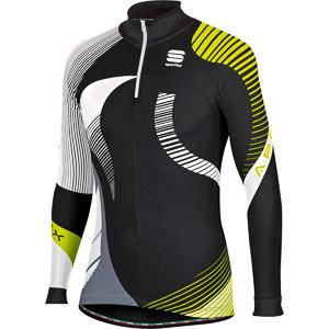 Sportful Apex Evo Race Top fluo žltý/čierny/biely