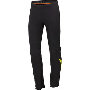 Sportful Squadra Gore WindStopper 2 Nohavice čierne/krikľavožlté