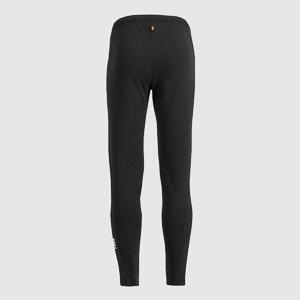 Sportful Solid Junior Elastické nohavice detské čierne