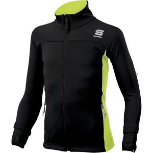 Sportful Light SoftShell detská bunda čierna/krikľavožltá