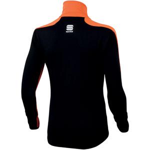 Sportful Light SoftShell bunda detská oranžová/čierna