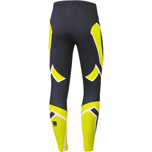 Sportful Worldloppet nohavice krikľavožltá/čierna