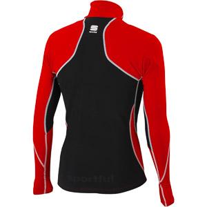 Sportful Cardio Evo Tech mikina červená/čierna