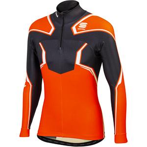 Sportful Dynamo Race top oranžový/čierny