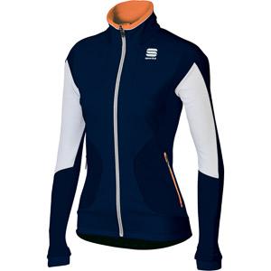 Sportful Apex Evo WS Bunda dámska modrá/biela