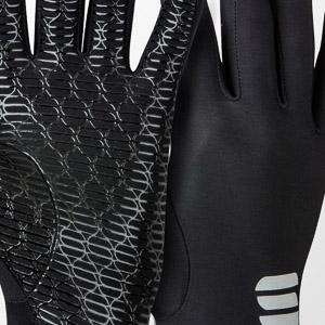 Sportful Lycra Race rukavice čierne