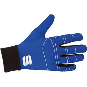 Sportful Lycra race rukavice čierne/modré
