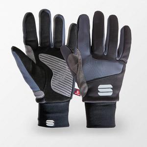 Sportful Subzero rukavice čierne/sivé