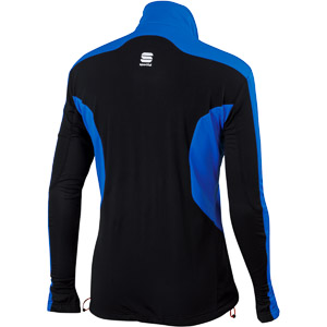 Sportful Engadin Wind Bunda modrá/čierna