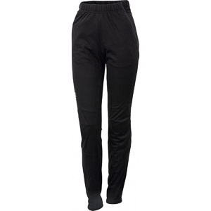 Sportful Engadin nohavice dámske čierne/tmavosivé